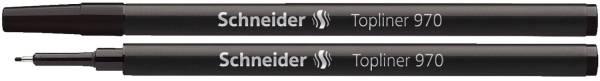 SCHNEIDER Feinlinermine 970 schwarz SN9701 TOPLINER