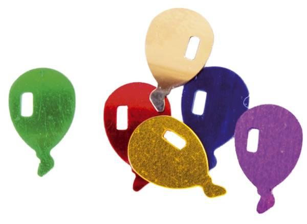 Konfetti Luftballon sortiert 7590