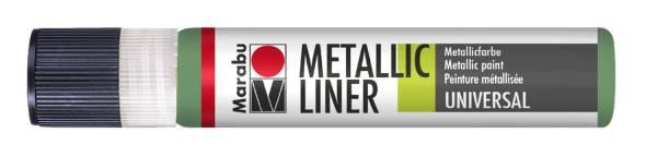 MARABU Metallic Liner 25ml dunkelgrün 1803 09 768