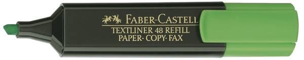 Textmarker 48 REFILL nachfüllbar, grün, Einzelstift