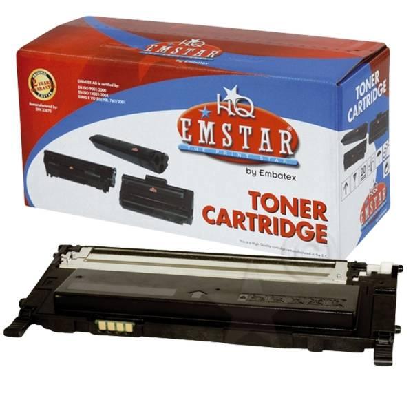 Lasertoner schwarz