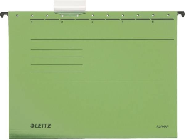 LEITZ Hängemappe Alpha UWS grün A4 1985-00-55