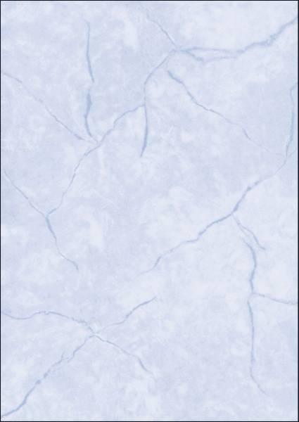 Struktur Papier, Granit blau, A4, 90 g qm, 100 Blatt