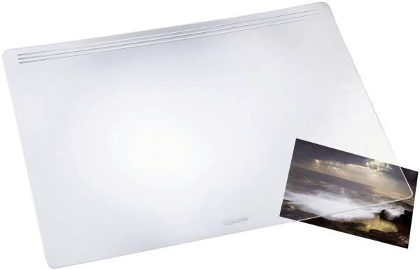 Schreibunterlage MATTON 60 x 40 cm, transparent glasklar