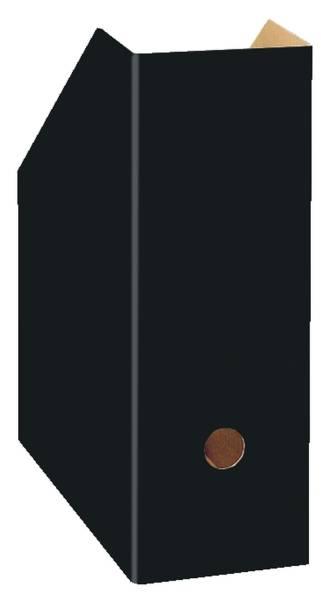 LANDRE Stehsammler A4 uni breit schwarz 100420031 350000012