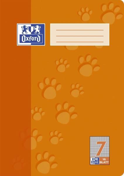 Heft A4 16 Blatt Lineatur 7