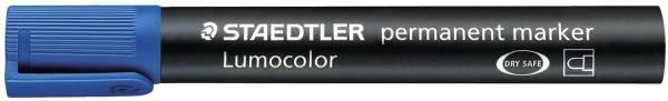 STAEDTLER Permanentmarker Lumocolor blau 352-3 Rundsp. 2mm