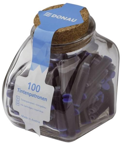 DONAU Tintenpatrone 100ST königsblau 4610000-10