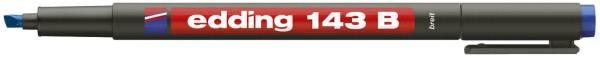 EDDING Folienstift 143B blau 4-143-003 permanent