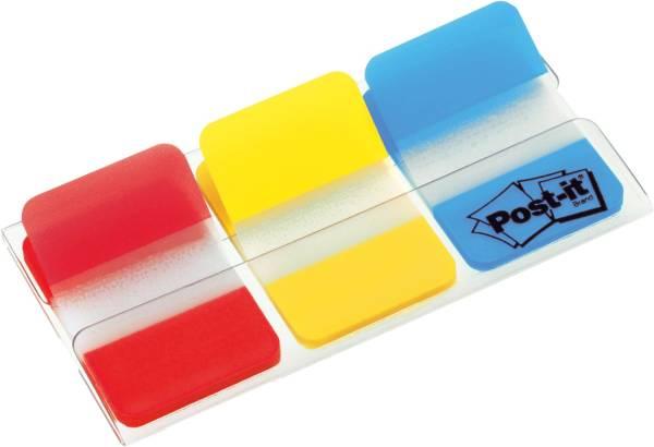 POST-IT Index 25,4x38mm sort. 686-RYB