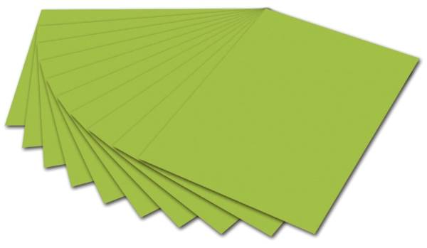 Tonpapier 50 x 70 cm, maigrün