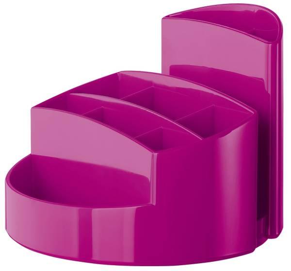 HAN Köcher Rondo hochglänz.pink 17460-96 9Fächer