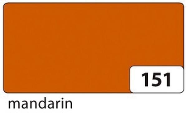 Plakatkarton 48 x 68 cm, mandarin