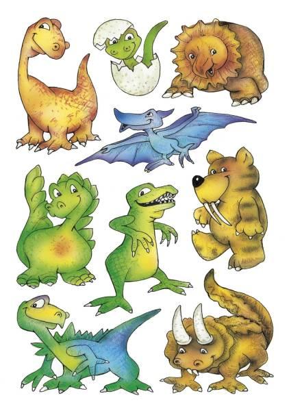 3431 Sticker DECOR Dinos
