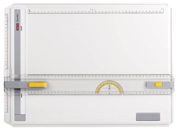 Zeichenplatte GEO Board A3, schlagfester Kunststoff, weiß, A3