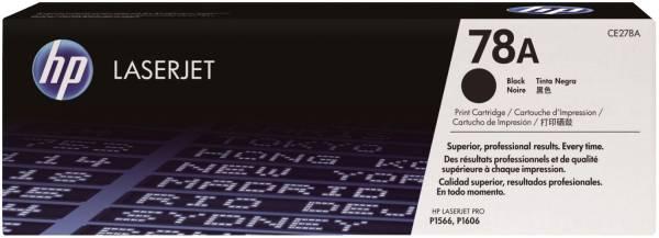 Druckkassetten schwarz, 2 100 Seiten, CE278A®