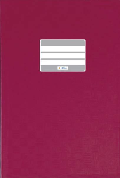 7450 Heftschoner PP A4 gedeckt weinrot