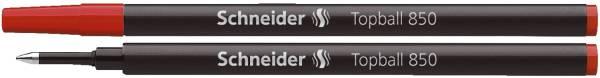 SCHNEIDER Tintenrollermine Topball rot SN8502 850
