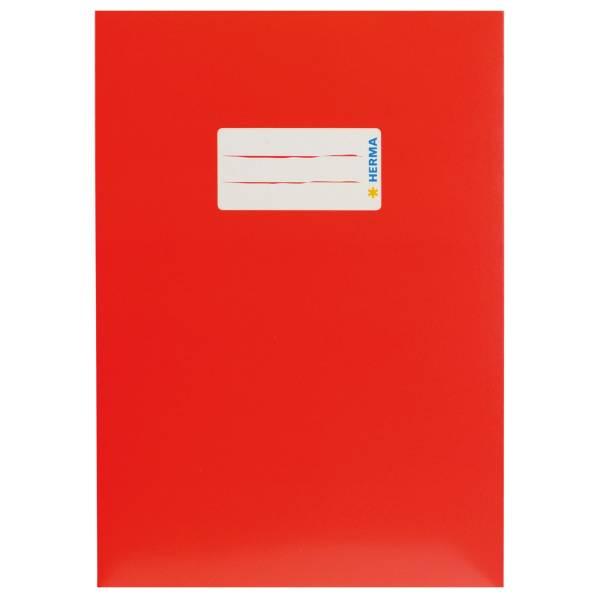 Heftschoner Karton A4 rot