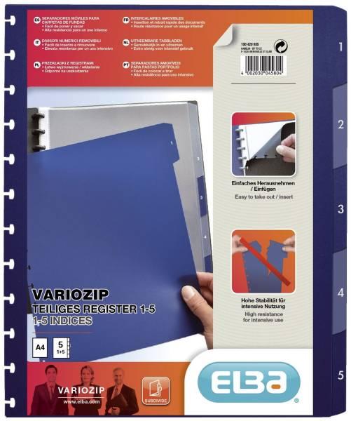 ELBA Register A4 blanko tra/dbl 100420935 61464