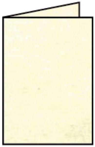 Coloretti Doppelkarte A6 hoch, 5 Stück, chamois marmora