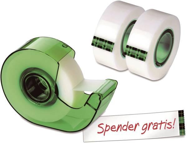 SCOTCH Klebeband Magic 3RL 19mmx25m AAMT-3+Handabroller