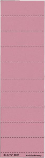 1901 Blanko Schildchen Karton, 100 Stück, rot