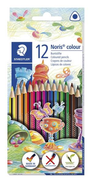 Farbstifte Noris colour 12 Farben sortiert®