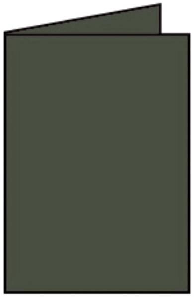 Coloretti Doppelkarte B6 hoch, 5 Stück, forest