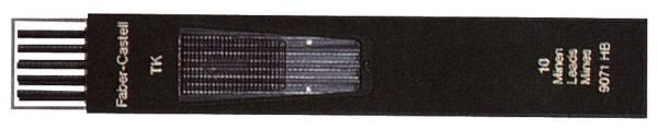 Fallmine TK für Fallminenstift 2 mm, Härtegrad 2B, tiefschwarz®