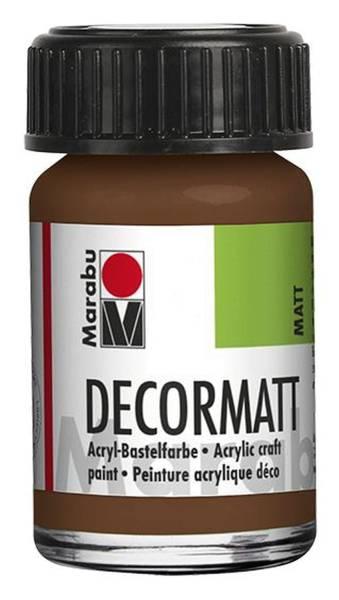MARABU Decormatt Acryl hellbraun 1401 39 047 15ml Glas