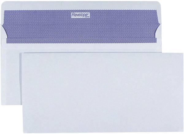 REVELOPE Briefhülle Komp. HK 80g weiß 30007431 500ST 112x225mm