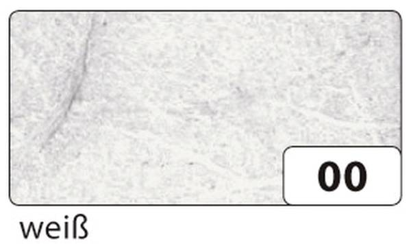 Strohseide 47 x 64 cm, weiß