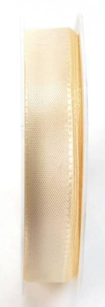 Basic Taftband 15 mm x 50 m, creme