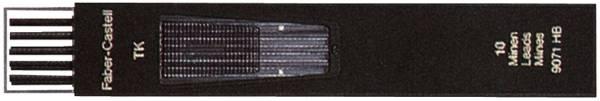 Fallmine TK für Fallminenstift 2 mm, Härtegrad HB, tiefschwarz®