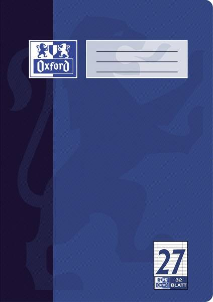 Heft A4 32 Blatt Lineatur 27