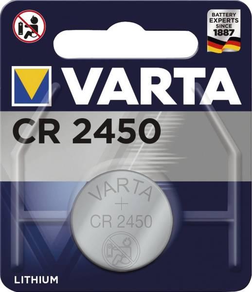 VARTA Batterie CR 2450 06450101401