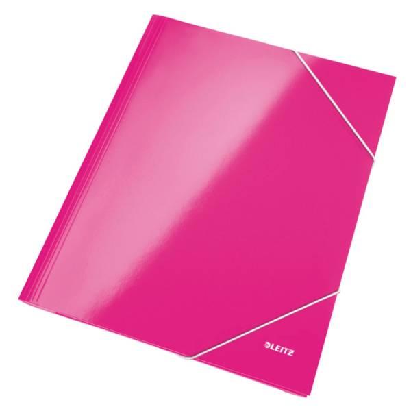 LEITZ Gummizugmappe A4 Wow pink 3982-00-23 Wow