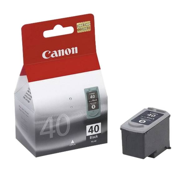 CANON Inkjetpatrone PG-40 schwarz 0615B001 16ml