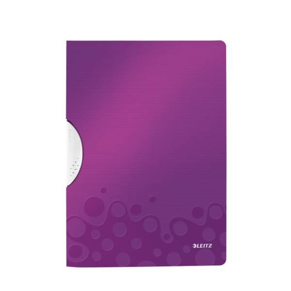 Klemmappe A4 Wow violett metall