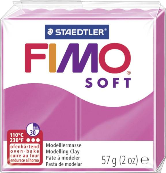 Modelliermasse FIMO soft 56 g, himbeere®