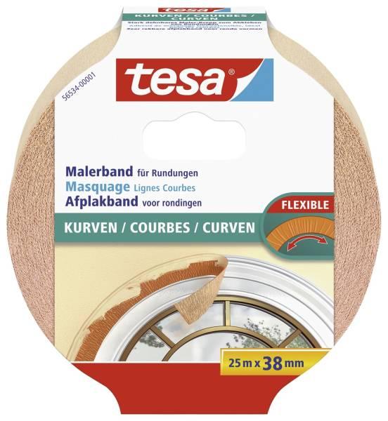 TESA Kreppband f.Kurven beige 56534-00001-0 38mm x25m