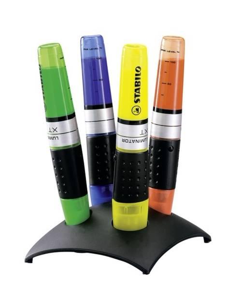 Textmarker LUMINATOR, Tischset mit 4 Stiften®