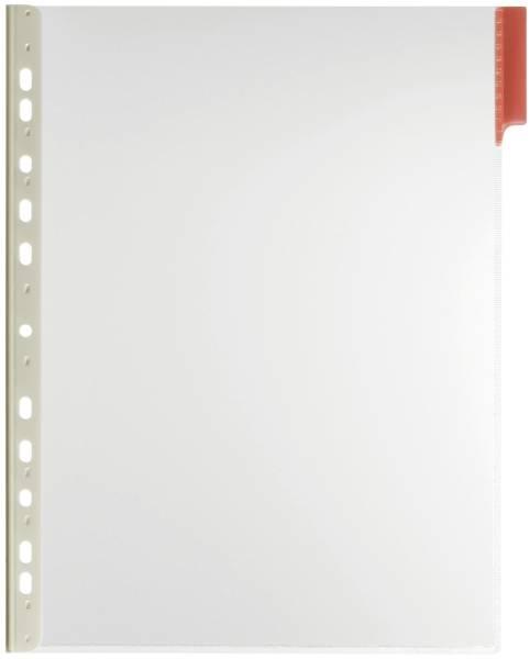 DURABLE Sichttafel A4 rot 5607 03