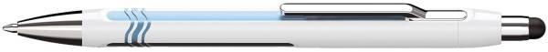 Kugelschreiber Epsilon Touch dokumentenecht, 0,6 mm, weiß blau