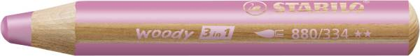 STABILO Aquarellfarbstift pink 880/334 Woody 3 in 1