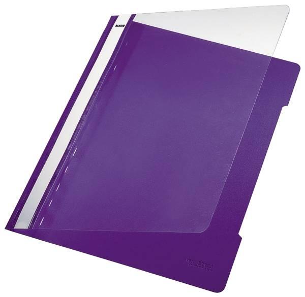 LEITZ Schnellhefter A4 violett 41910065 Plastik