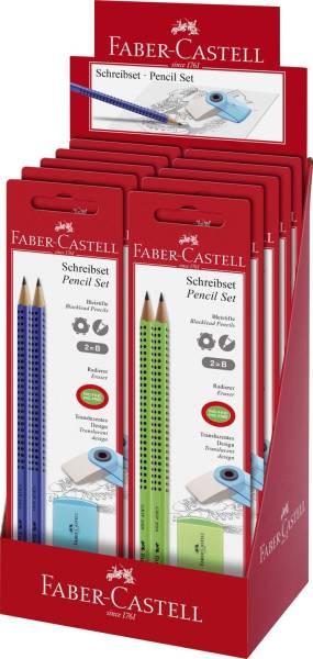 Bleistift Set Sleeve 3 tlg , hellgrün