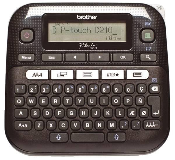 Beschriftungsgerät P touch D210VP im Hartschalenkoffer