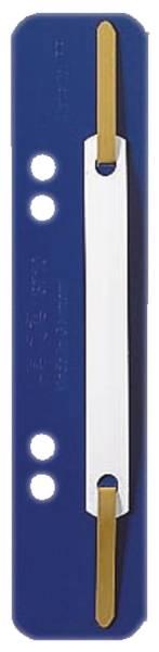 3710 Einhänge Heftstreifen PP, kurz blau, 25 Stück
